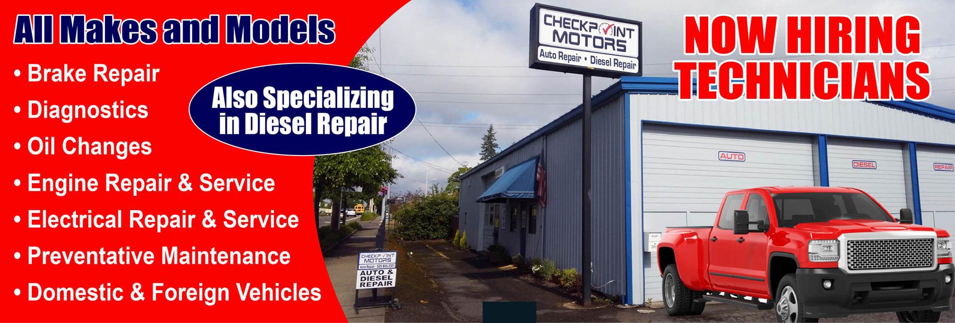 Brake Places Near Me >> Auto Repair Oregon City Or Brakes Transmission Repair Oil Changes