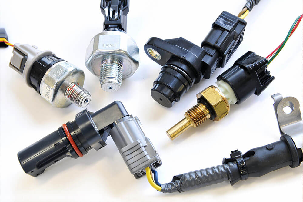 selection of sensors and what they monitor